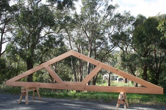 Trusses – • Timber Frames of Australia •